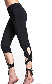Pantalones Yoga Mujeres, Xinantime Mujer Deportes Gym Yoga Entrenamiento Polainas Pantalones Deportivos Fitness Lounge