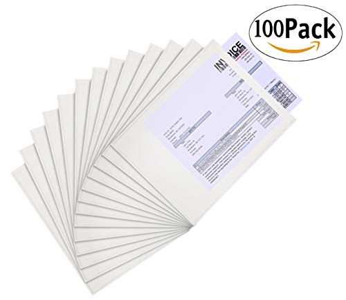 Clear Self-Adhesive envelopes Packing Pack of 100 2 mil Thick envelopes Peel and Seal Packing List envelopes 9.5 x 12 Document mailers 9 1//2 x 12 by Amiff Shipping Packaging.
