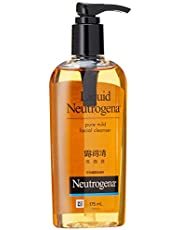 Neutrogena Liquid Facial Wash Normal To Oily, 175 ml