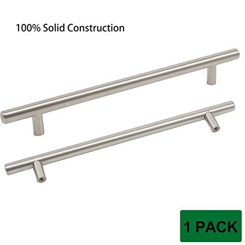 Probrico SOLID Brushed Nickel T Bar Cabinet Handles 7-9/1...