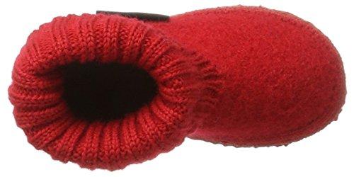 Giesswein GiessweinKramsach - Pantuflas de caña alta Unisex Niños Rojo (Rot)