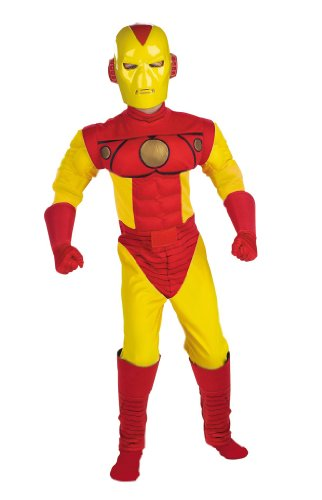 Kids Muscle Chest Iron Man Costume