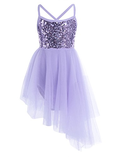 Used, iiniim Kids Girls' Sequined Camisole Ballet Tutu Dress for sale  Delivered anywhere in USA