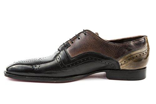 Melvin & Hamilton - Zapatos de cordones de Piel Lisa para hombre multicolor multicolor 42