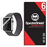 (6-Pack) Spectre Shield for Apple Watch Screen Protector...