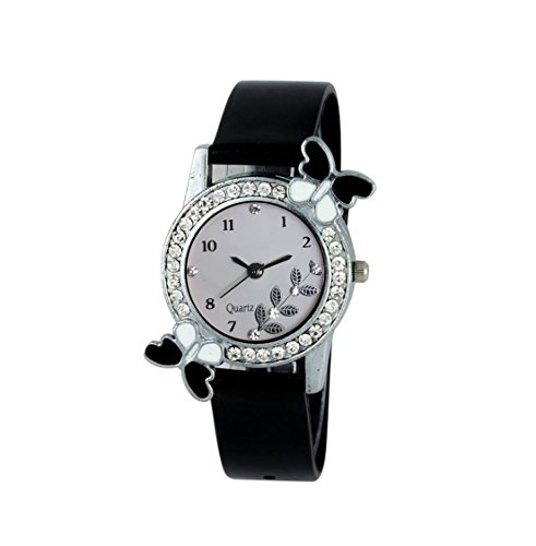 Glamexy Analog White Dial Watch for Girls