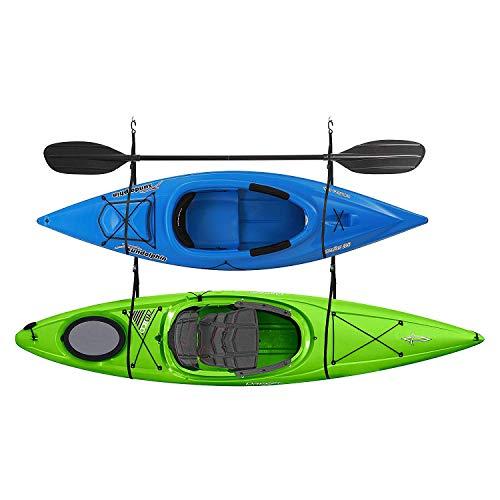 RAD Sportz 2029 Double Kayak Storage Strap GarageCanoe Hoists 100 lb Capacity