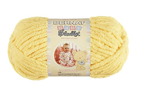 Bernat Baby Blanket Yellow Single
