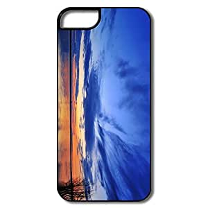 PTCY IPhone 5/5s Designed Vintage Mirroring Clouds