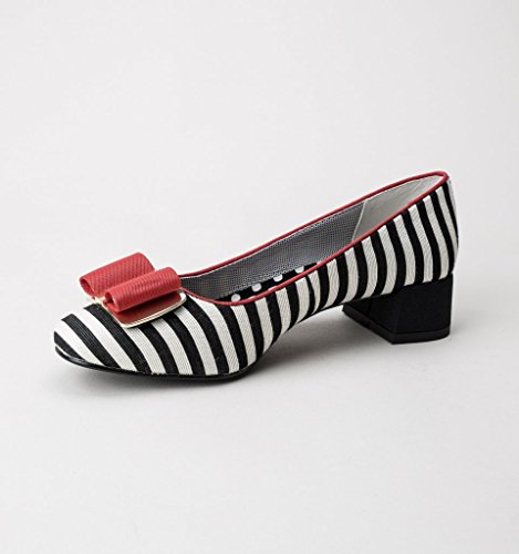 Ruby Shoo June Damen Pumps Black Red