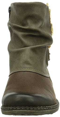 femme Remonte femme Boots Boots Boots Marron Marron Remonte Remonte 7xpSnWPHI