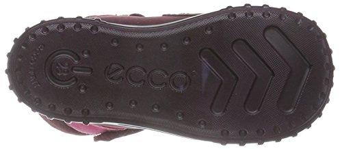 Ecco ECCO MIMIC - zapatillas de running de cuero Bebé-Niños Rojo (RED PLUM/MORILLO/MORILLO59286)