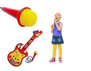 Toy Cubby Cantar a lo Largo de un Instrumento de Guitarra operado ...