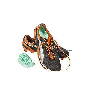 "Tuli's Heavy Duty Heel Cups ""Green"" – Pro Heel Cup Perfect for Plantar Fasciitis & Heel Protection – Large (Over 175lbs)"