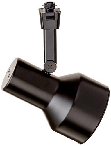 Halo LZR305MB Lazer Step Cylinder Lamp Holder with Black Baffle, BR30, R30, PAR30, BR25, Matte Black ()