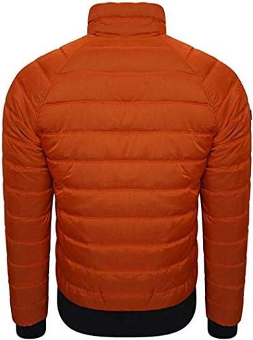 Superdry Men's Commuter Quilted Bomber Jacket - Denver Orange