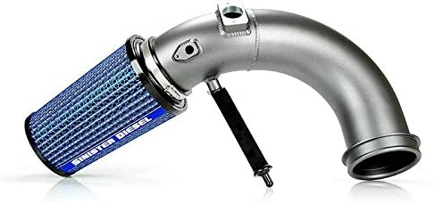 Sinister Diesel Cold Air Intake for 2007.5-2012 Dodge Ram Cummins 6.7L (Gray)