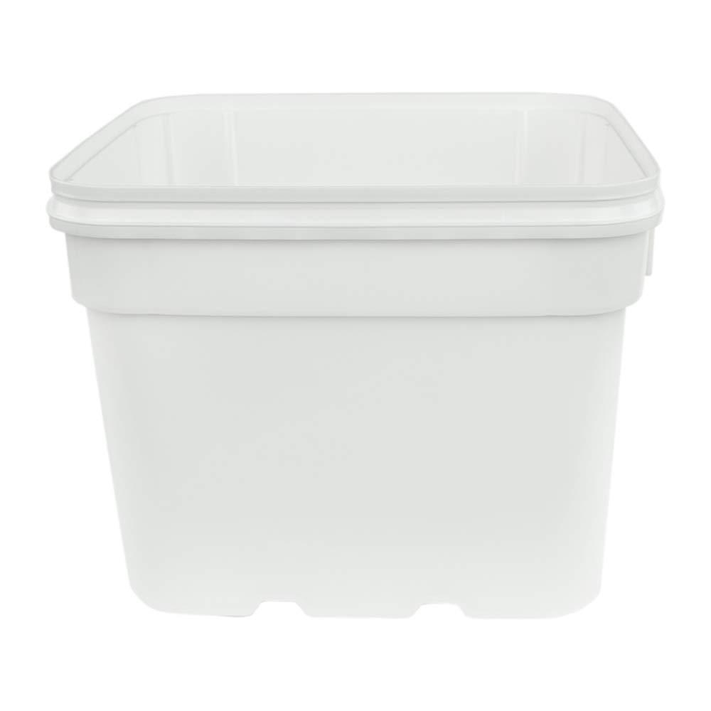 Lids Sold Seperately 8 Gallon White EZ Stor Pail