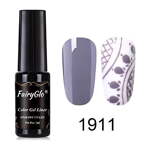 1911 Painting - FairyGlo Color Liner Gel Nail Polish UV LED Soak Off Varnish Manicure Nail Art Painting 7ML 1911
