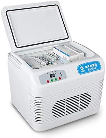 ZWH-ZWH 12Lのインスリンエレクトリックは、旅行やキャンプミニ冷蔵庫のミュートデジタル表示リーファーカー冷蔵庫のサーモスタットボックスクール 車載用冷蔵庫
