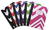 The Studio C 94755 You Zig It composition Book features colorful chevron designs to organize each of your classes. This notebook has 70 sheets of wide ruled paper. The poly cover and tape binding will keep your notes safe and secure. Sold as an assor...
