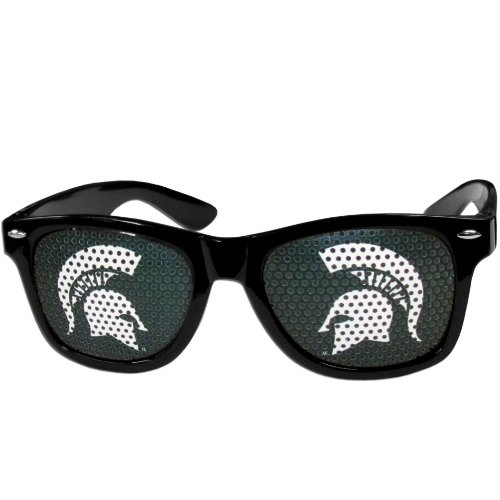 - NCAA Michigan State Spartans Game Day Shades, Black