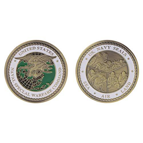 PoityA Commemorative Coin USA Navy Seals American Army Collection Arts Gifts Souvenir