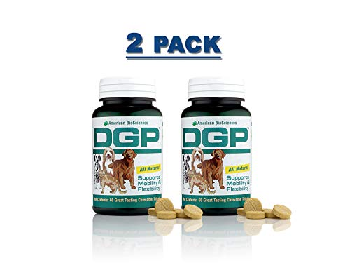 American BioSciences DGP Joint Support for Pets All Natural Formula - 60 Chewable Tablets (2-Pack)