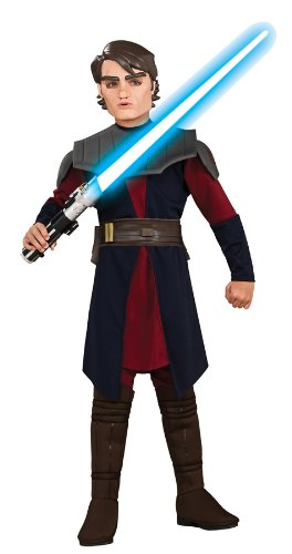 [Anakin Skywalker Deluxe Child Costume (Large)] (Young Anakin Costume)