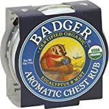 Badger Mini Aromatic Chest Rub 21 g (order 3 for trade outer)