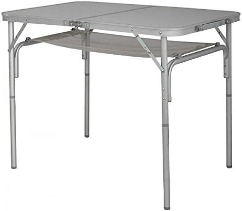 Eurotrail - Mesa plegable de camping (aluminio, plegable, con ...