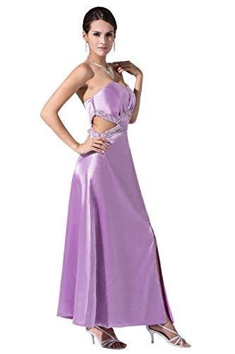 YiYaDawn Langes sexy Partykleid Abendkleid mit Schlitz für Damen ...