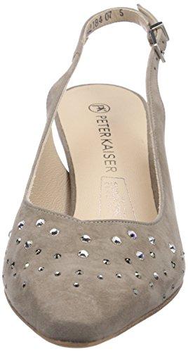 Peter Kaiser MEGGY - Zapatos de vestir de cuero para mujer beige - Beige (TAUPE SUEDE MULTI  SWAROVSKI 342)