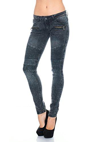 Damen Jeans Skinny Slim Fit ID441 yhO15