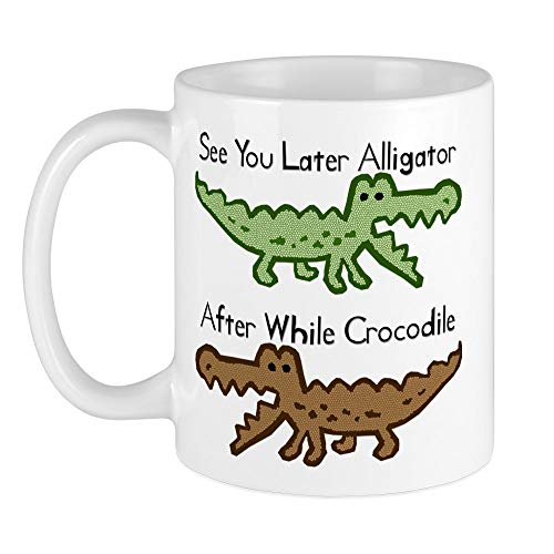 CafePress Alligator And Crocodile Mug Unique Coffee Mug, Coffee Cup