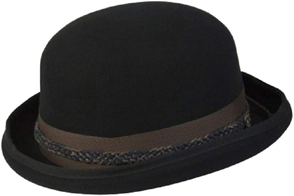 BOWLER HAT IN WOOL BY CONNER