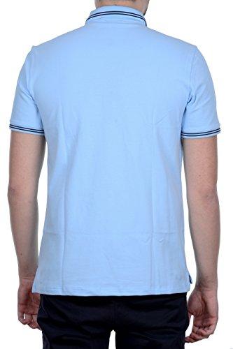 Armani Jeans Men's Light Blue Polo Shirt