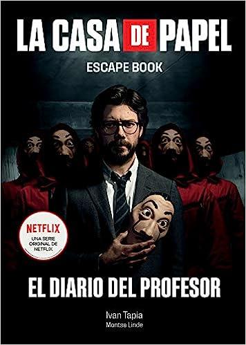 SPA-CASA DE PAPEL ESCAPE BK (Escape Book): Amazon.es: Tapia, Ivan, Linde, Montse: Libros