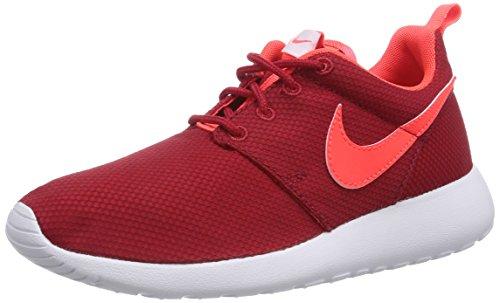 963c1c46b481 Nike Rosherun (GS) Boys Running Shoes 599728-602 Gym Red Bright Crimson- White 5.5 Big Kid M - Buy Online in Oman.