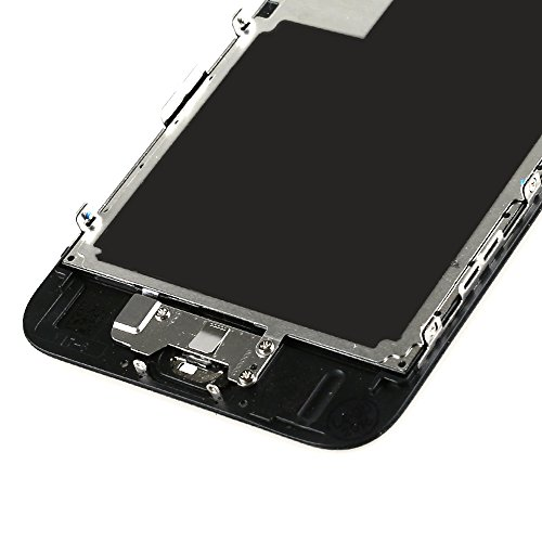 For iPhone 6s Digitizer Screen Replacement Black - Ayake 4.7'' Full LCD Display Assembly with Home Button, Front Facing Camera, Earpiece Speaker Pre Assembled and Repair Tool Kits by Ayake (Image #7)