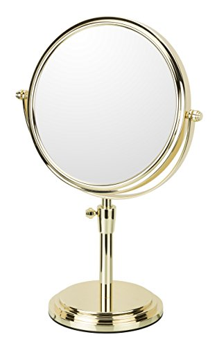 Mirror Image Classic Adjustable Freestanding Mirror - Rose Gold