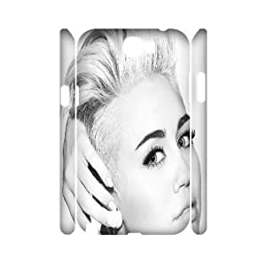 ZK-SXH - Miley Cyrus Custom 3D Case Cover for Samsung Galaxy Note 2 N7100, Miley Cyrus DIY 3D Case