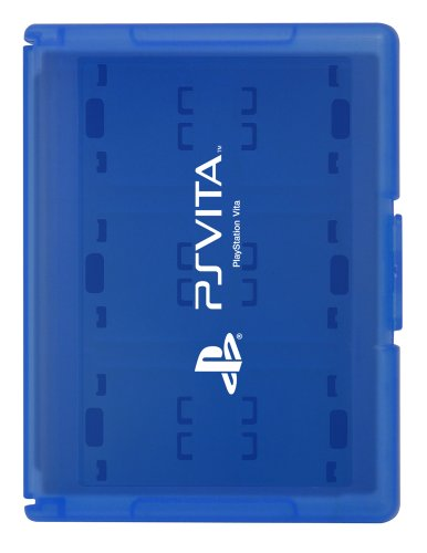Card Case 12 for PlayStation Vita (Blue) [Japan Import] by Hori