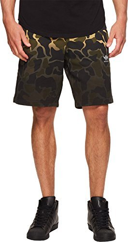 adidas Originals Men's Camo Shorts Multicolor X-Large (Adidas Retro Shorts)