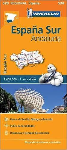 Spagna Andalusia Cartina.Amazon It Carta Stradale Spagna Andalusia Aa Vv Libri