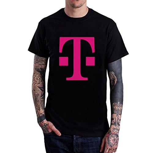mens-t-mobile-shirts-m-black-short-sleeves