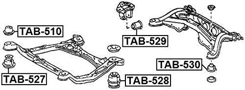 FEBEST TAB-528 Body Bushing
