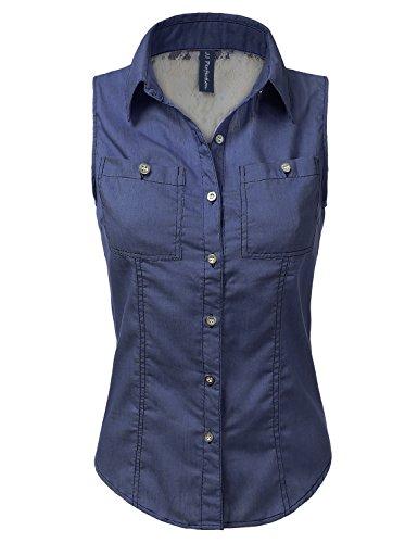 JJ Perfection Womens Sleeveless Blouse product image