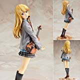 WHO'S LUCK Anime Your Lie in April Miyazono Kaori 1/7 Scale Painted PVC Action Figure Collectible Model Toy 20cm