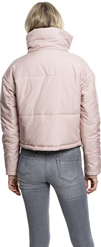 Oversized Jacket Urban Giacca rose Neck 1075 Rot Donna High Ladies Classics pBUO7